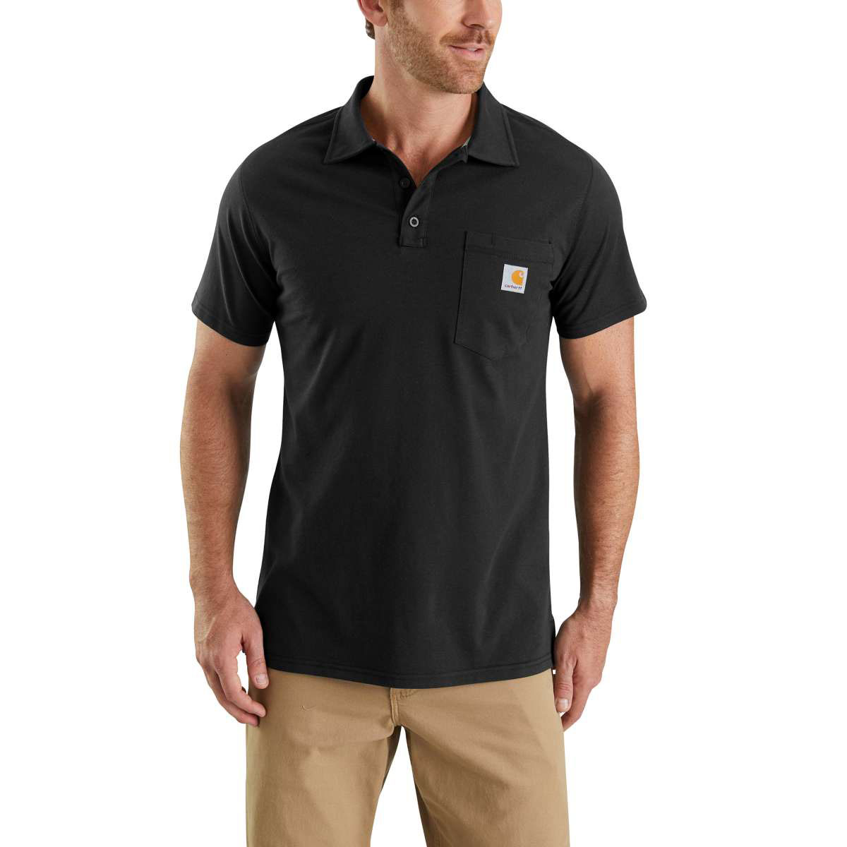 Carhartt Force Cotton Polo with Pocket
