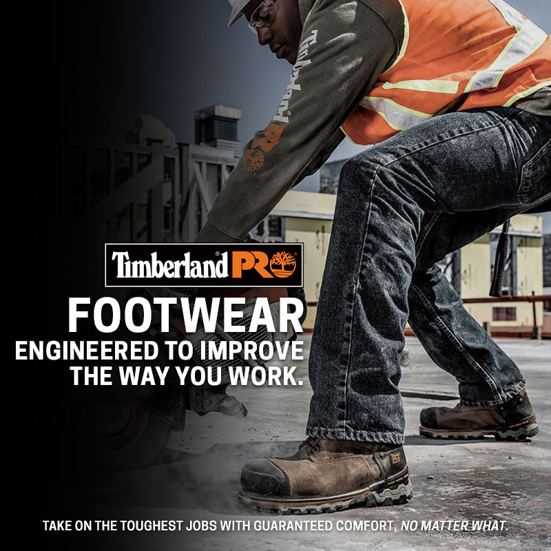 Timberland Pro Footwear Engineered to Improve the Way You Work. Shop Now.