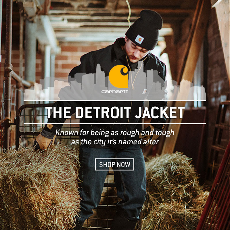 Carhartt Detroit Jacket - Blanket Lined.