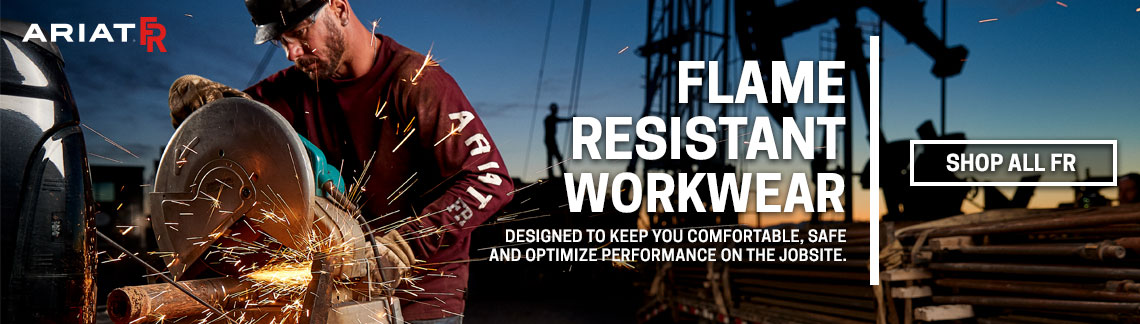 Flame Resistant Workwear - Designed to keep you comfortable.