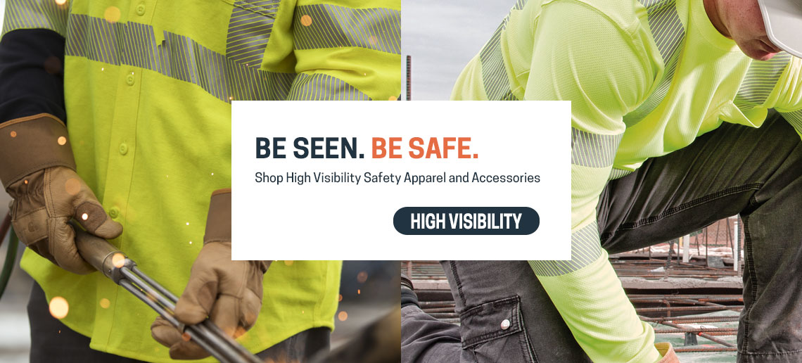 Be Seen. Be Safe. High Visibilty