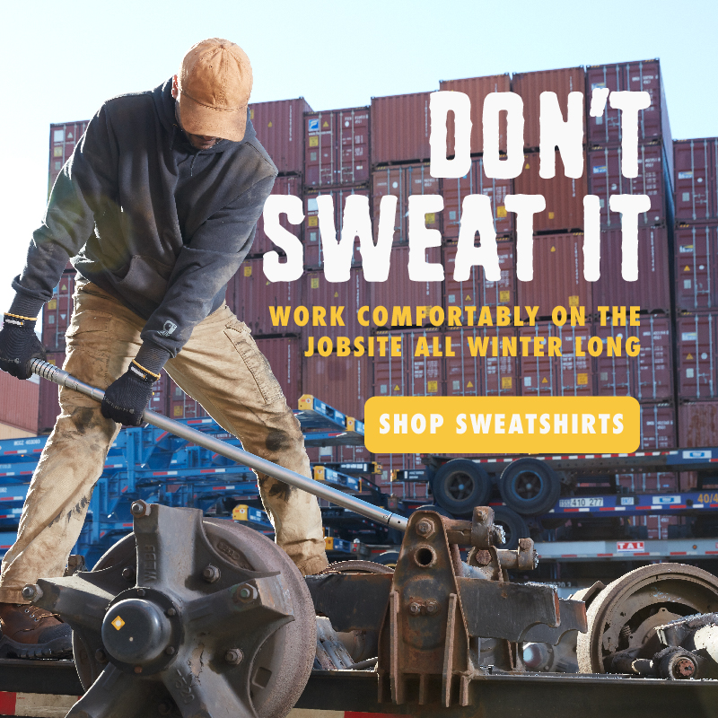 Don't sweat it. Work comfortably on the jobsite all winter long.