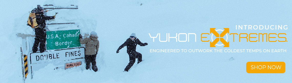 Introducing Yukon Extremes. Engineered to outwork the coldest temps on Earth.