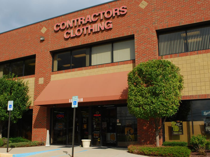 Contractor's Clothing Exterior