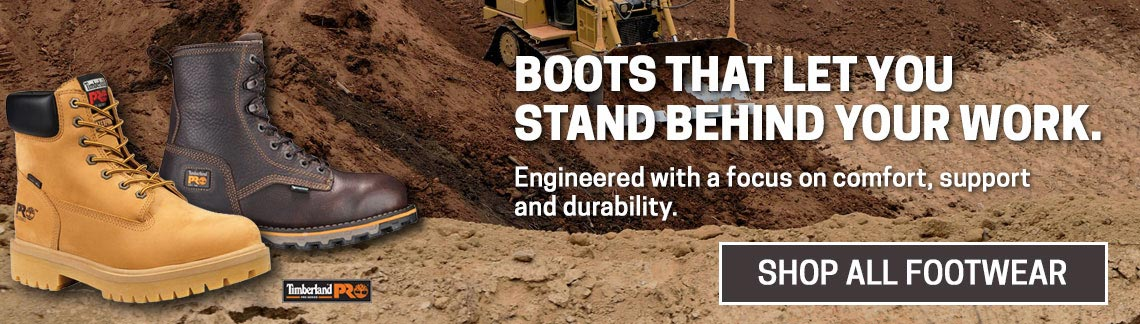 Boots That Let You Stand Behind Your Work